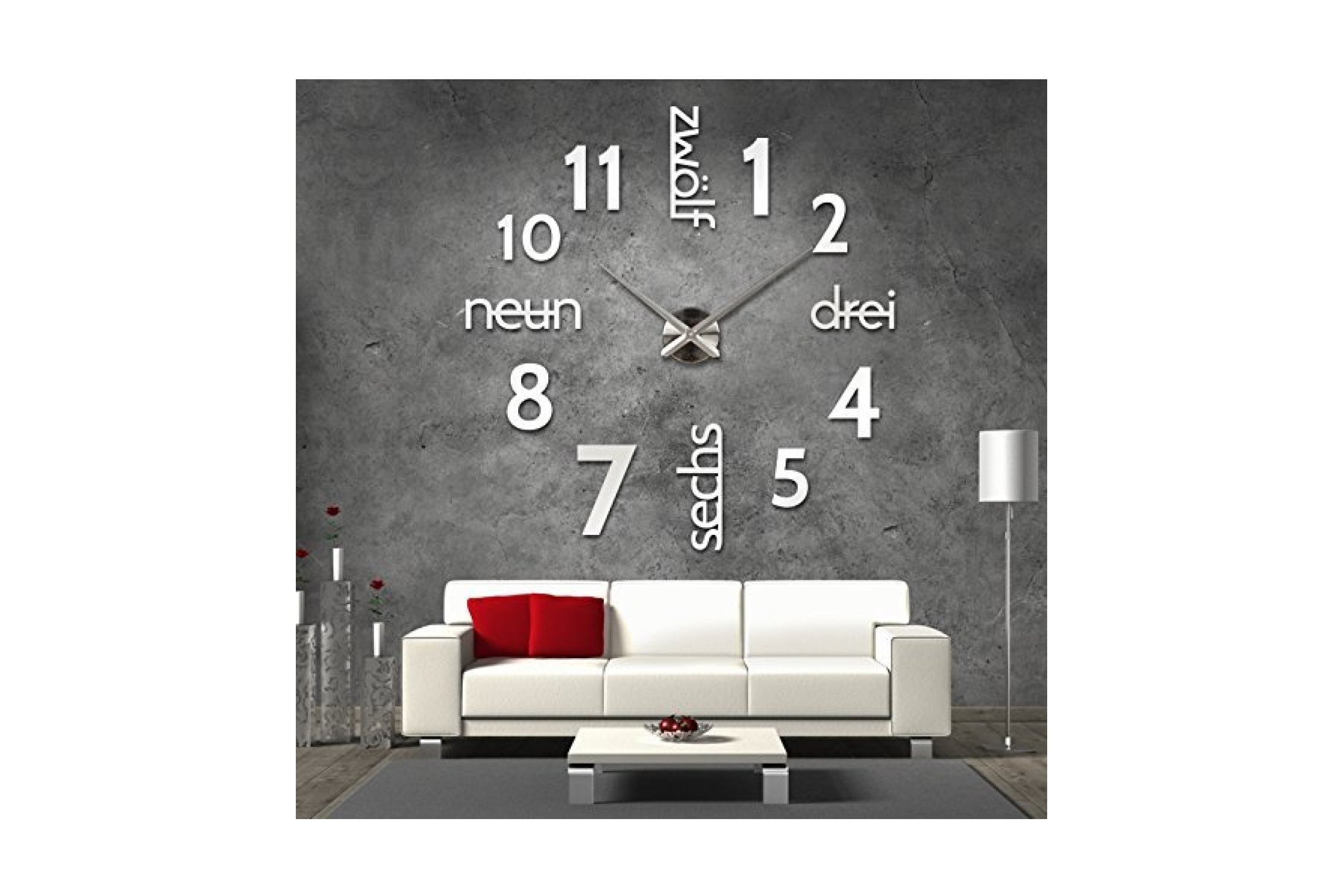 designer wanduhr test 2017 top 7 designer wanduhren. Black Bedroom Furniture Sets. Home Design Ideas