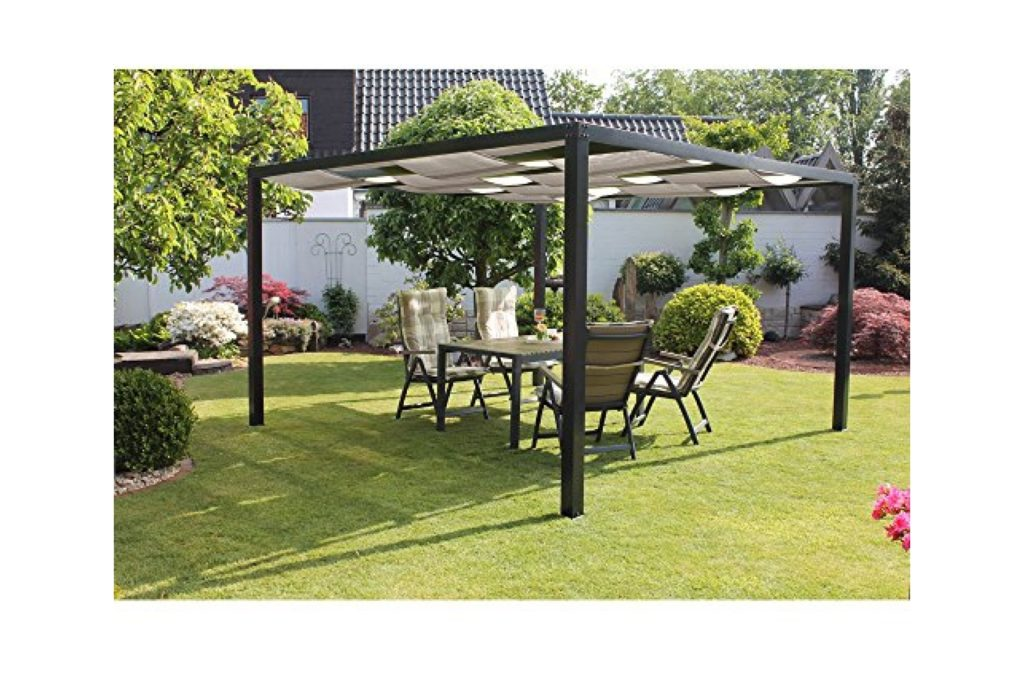 pergola metall test 2018 top 7 metallpergolen expertesto. Black Bedroom Furniture Sets. Home Design Ideas