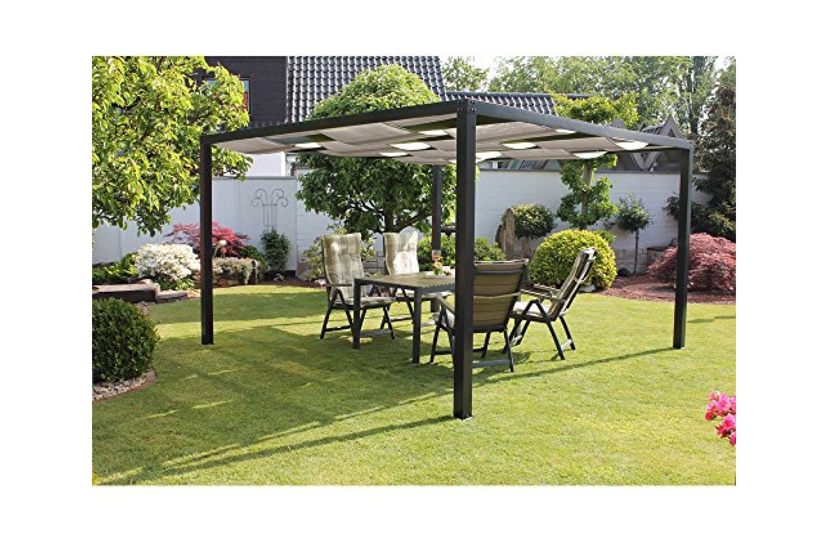 pergola metall schweiz samling av de senaste. Black Bedroom Furniture Sets. Home Design Ideas